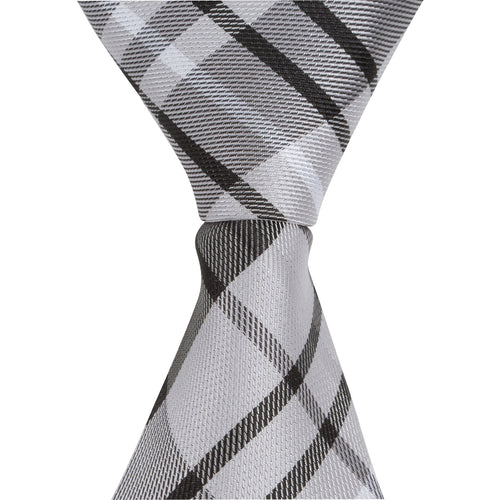 ST1 - Skinny Black/Gray/White Plaid