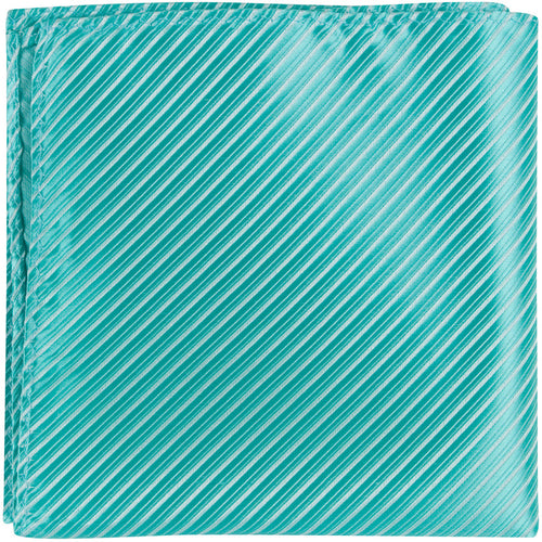 G4 PS - Seafoam Green Pinstripe - Matching Pocket Square