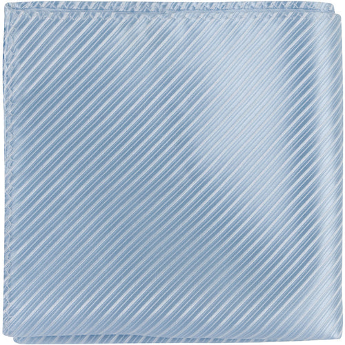 B1 PS - Pale Blue Pinstripe - Matching Pocket Square
