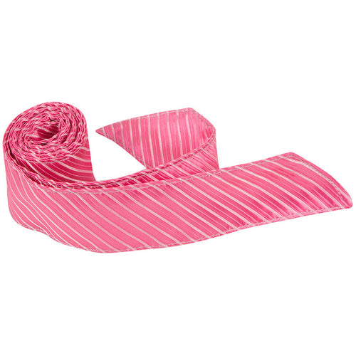 P6 HT - Hot Pink Pinstripe - Matching Hair Tie