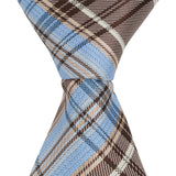 XB42 - Blue/Brown Plaid