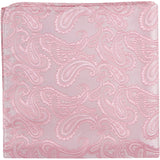 P3 PS - Pink paisley - Matching Pocket Square
