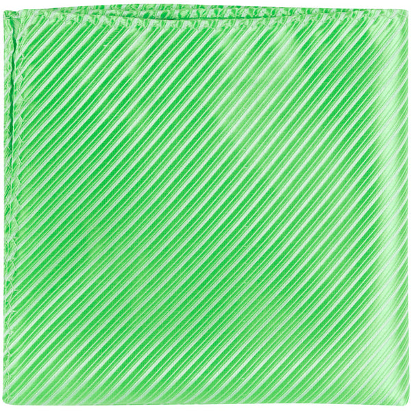 G6 PS - Mint Green Pinstripe - Matching Pocket Square