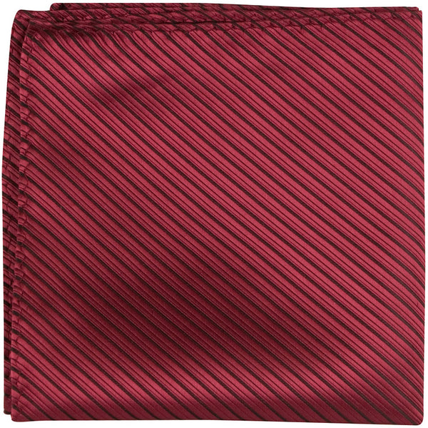 XR64 PS - Red with black pinstripe - Pocket Square