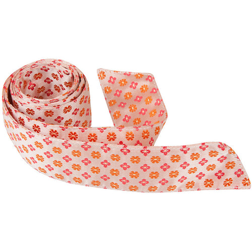 O3 HT - Orange Multi Flowers - Matching Hair Tie