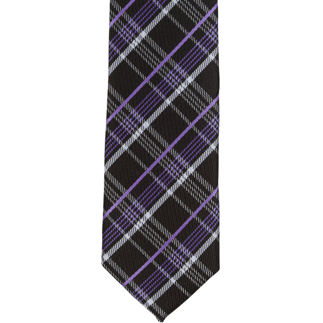 XK45 - Black/Purple/White Plaid
