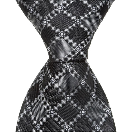 S6 - Slate Multi Square Neck Tie
