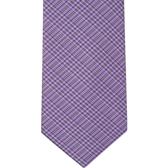 BT-11  Purple, Black and White Plaid