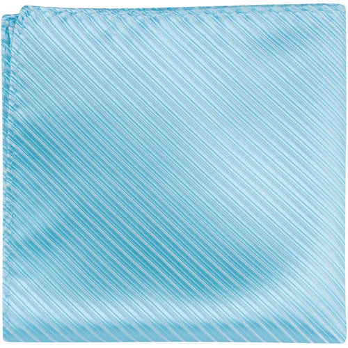 B16 PS - Blue Aqua - Matching Pocket Square