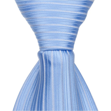 B21-HT - Blue/Silver Gingham - Matching Hair Tie