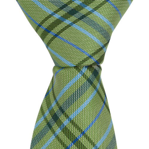 XG48 - Green/Light Blue Plaid