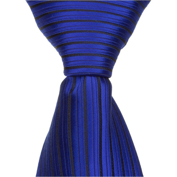 B5 - Royal Blue Pinstripe