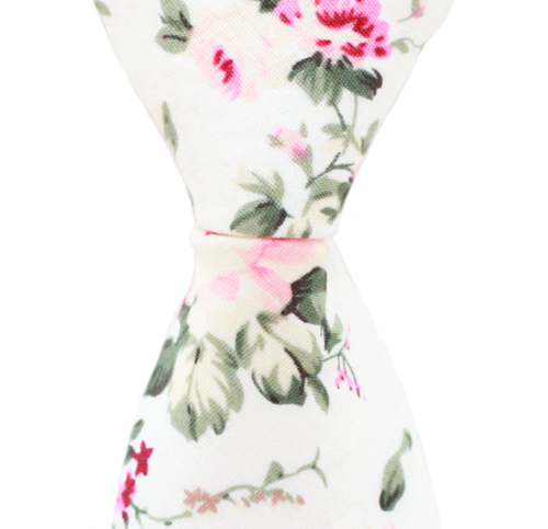 N1 - Cream Floral Cotton