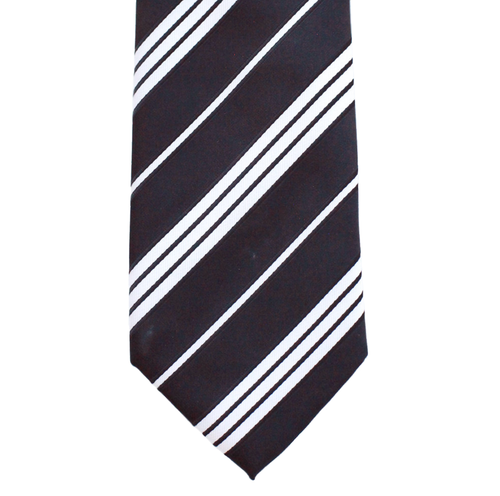 WF11 - Black with White Stripes Adult - Standard Width