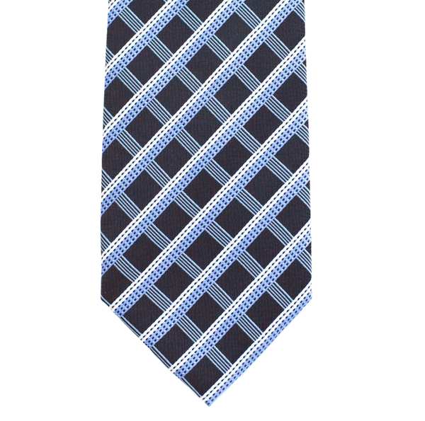 WF12 - Black/Blue Diamond Pattern