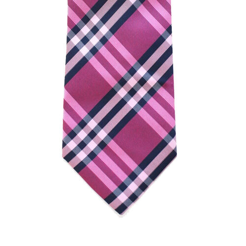 WF14 - Magenta with Black/White Plaid