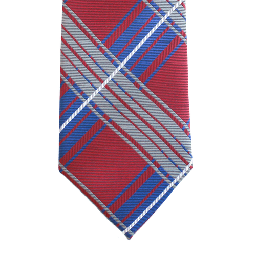 WF19 - Red/Gray/Blue Plaid