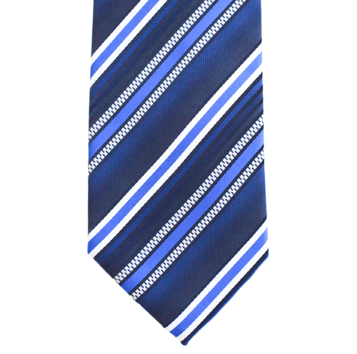 WF6 - Blue with Multi Blue Stripe