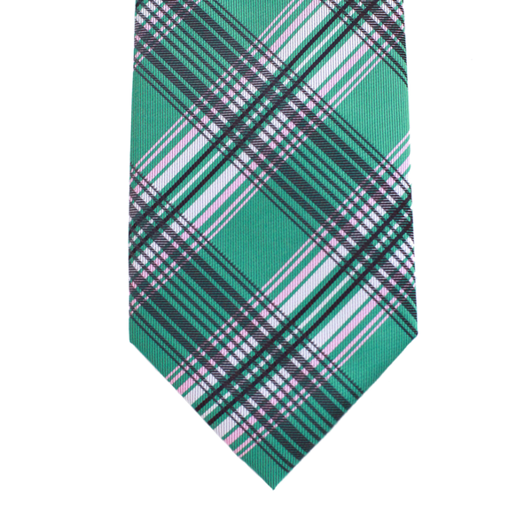 WF8 - Green with Pink Plaid