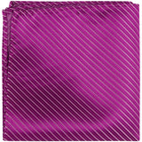 L7 PS - Plum - Matching Pocket Square