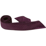 L8 HT - Wine Pinstripe - Matching Hair Tie