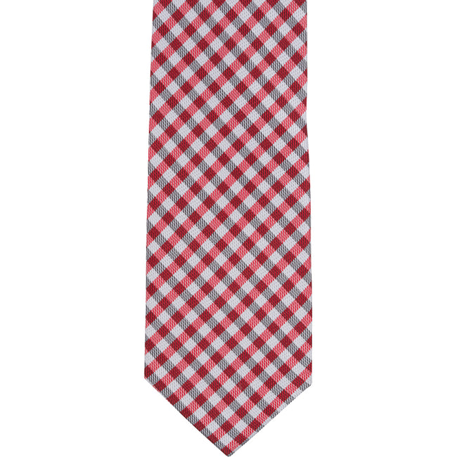 ST7 - Skinny Red/White Checkered