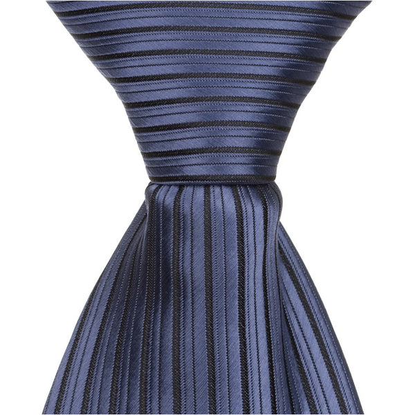 B4 - Midnight Blue Pinstripe