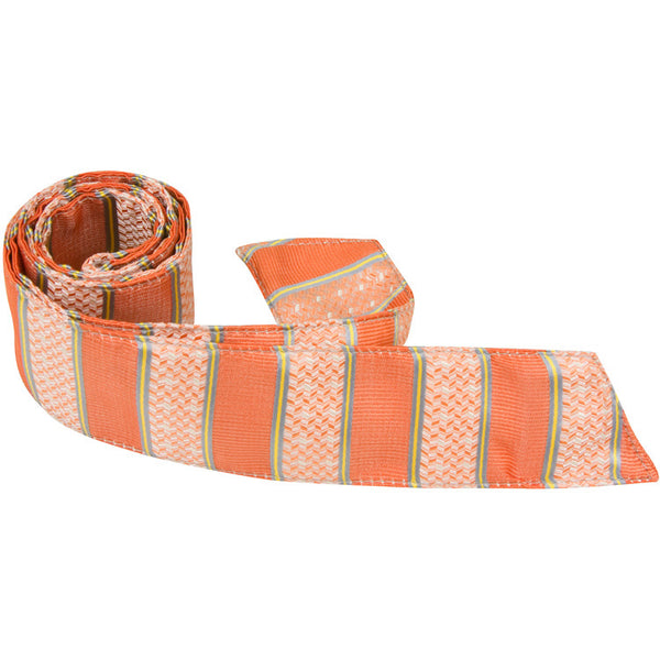 O2 HT - Orange Multi Stripe - Matching Hair Tie
