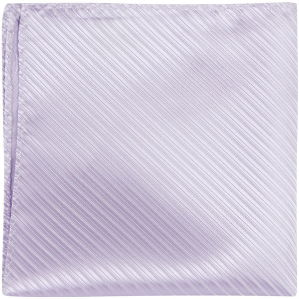 L2 PS - Lavender Pinstripe - Matching Pocket Square