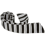 K3-HT - Black with White Stripes