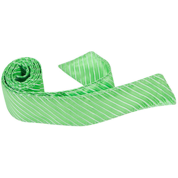 G6-HT - Mint Green Pinstripe - Matching Hair Tie