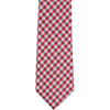 ST7 - Skinny Tie Red/White Checkered
