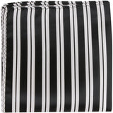 K3 - Black with White Stripes