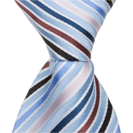 L8 PS - Wine Pinstripe - Matching Pocket Square