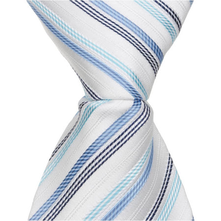 X5 PS - Red/Blue Stripe - Matching Pocket Square