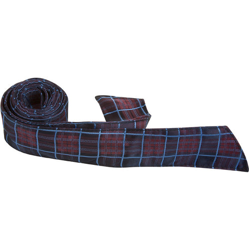 X8-HT - Navy, Maroon, Blue Plaid