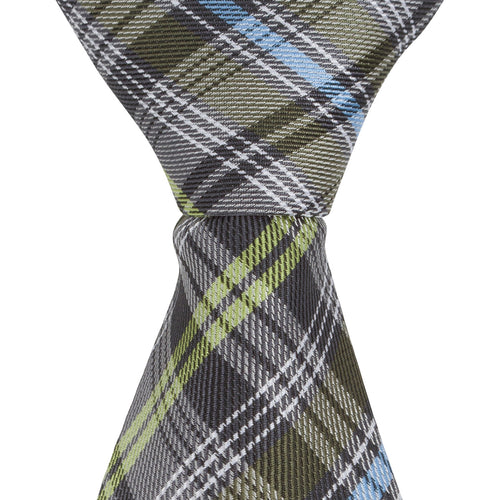 XG49 - Brown/Green/Blue Plaid - Narrow Width