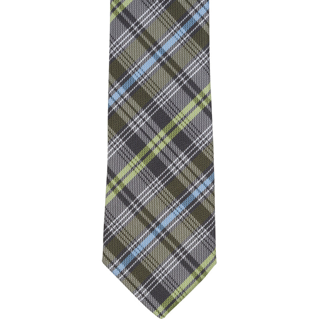XG49 - Brown with Green/Blue Plaid