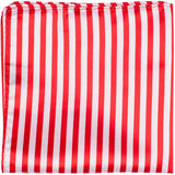 XR20 PS - Red and white stripes - Matching Pocket Square