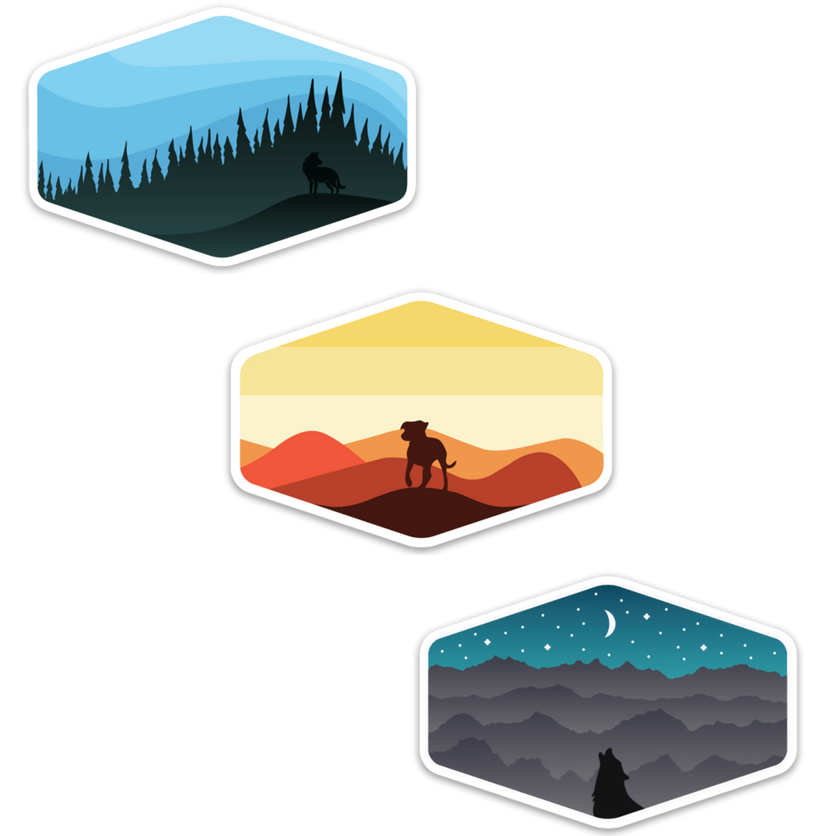 Horizons Sticker Pack