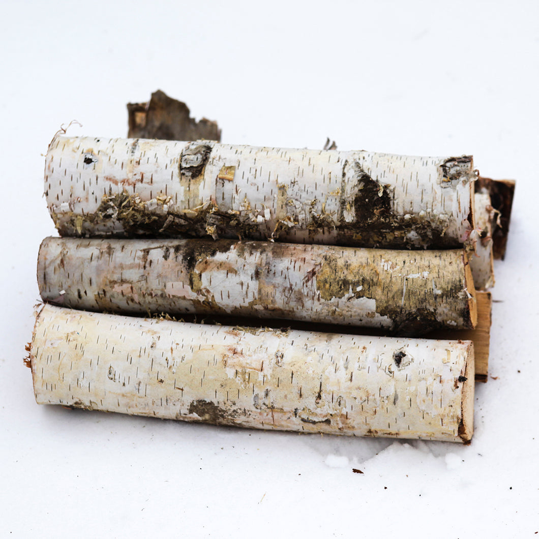 Decorative White Birch Logs