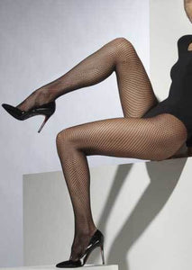Black Sexy Plus Size Fishnet Stockings