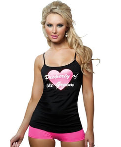Property Of The Groom Bridal Lingerie Cami