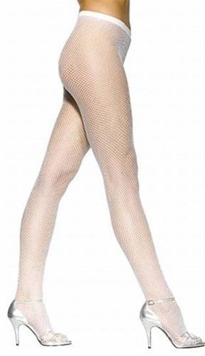 Fishnet Pantyhose - White