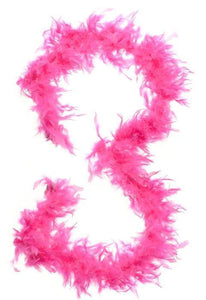 Feather Boa in Hot Pink