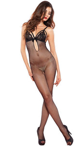 Open Crotch Sexy Fishnet Bodystocking Lingerie for Women Main Image