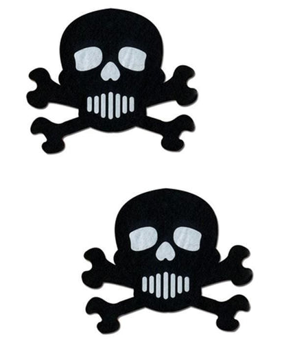 Skull and Cross Bones Novelty Pasties