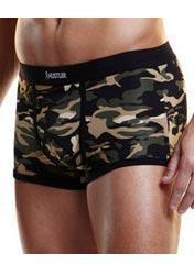 Camouflage Printed Men's Lingerie Briefs