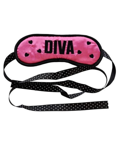 Diva Pink Satin Sleep Mask