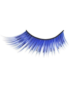Tinsel Split Eyelashes in Blue
